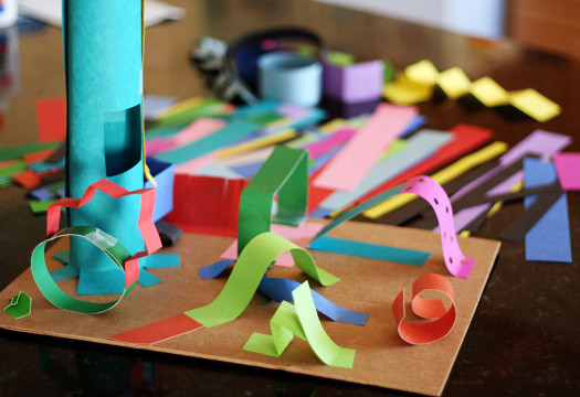 Best ideas about 3D Art Projects For Kids . Save or Pin Creating 3 D Paper Sculptures With Kids Now.