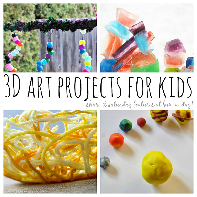 Best ideas about 3D Art Projects For Kids . Save or Pin 3D Art Projects for Kids that Inspire Creativity Now.