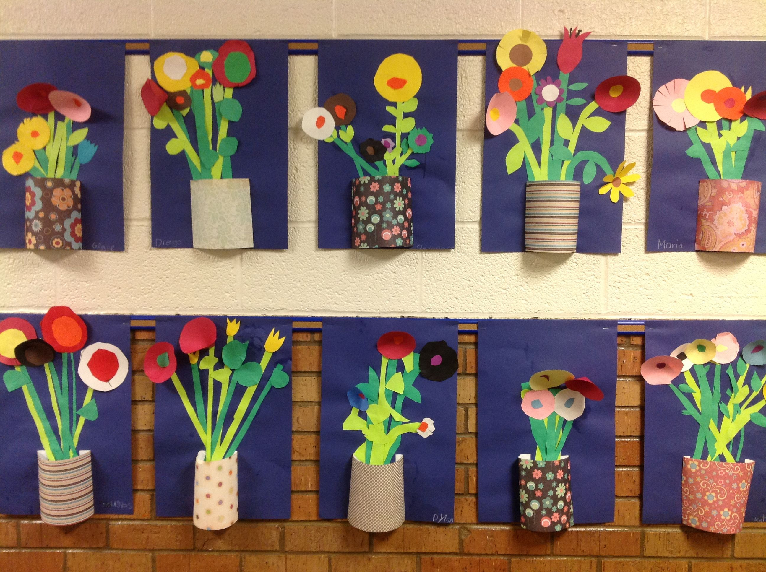 Best ideas about 3D Art Projects For Kids . Save or Pin Great idea for spring May flowers What is the history Now.