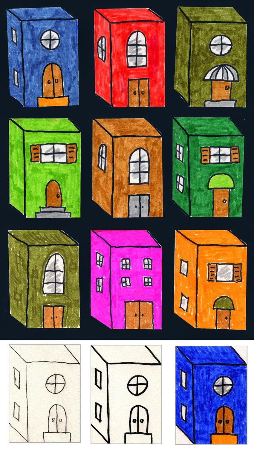 Best ideas about 3D Art Projects For Kids . Save or Pin Art Projects for Kids 3D City Buildings Now.
