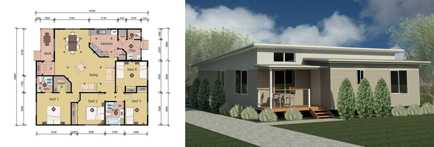 Best ideas about 4 Bedroom Mobile Homes . Save or Pin The Dobell 4 Bedroom Modular Home Parkwood Homes Now.