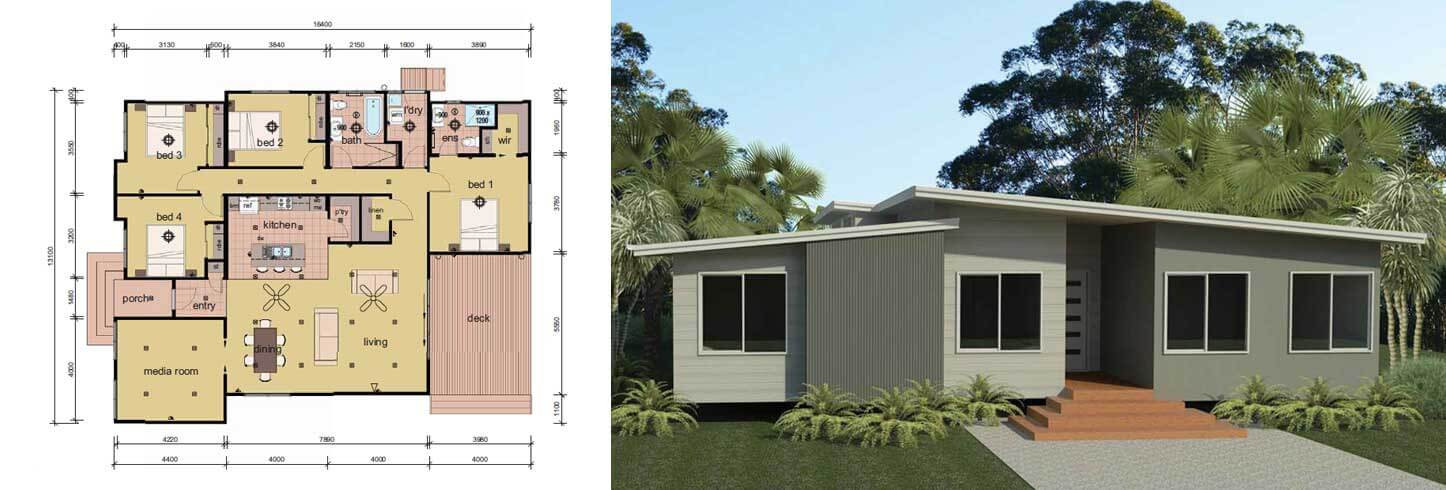 Best ideas about 4 Bedroom Mobile Homes . Save or Pin The Coburn 4 Bedroom Modular Home Parkwood Homes Now.