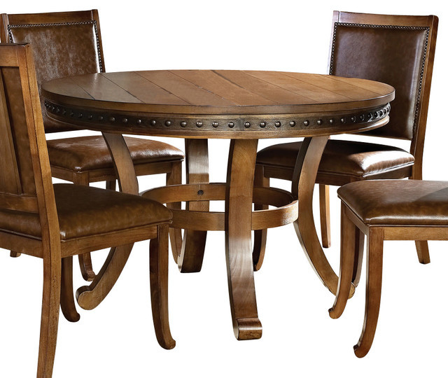Best ideas about 48 Inch Round Dining Table . Save or Pin Steve Silver Ashbrook 48 Inch Round Dining Table Now.