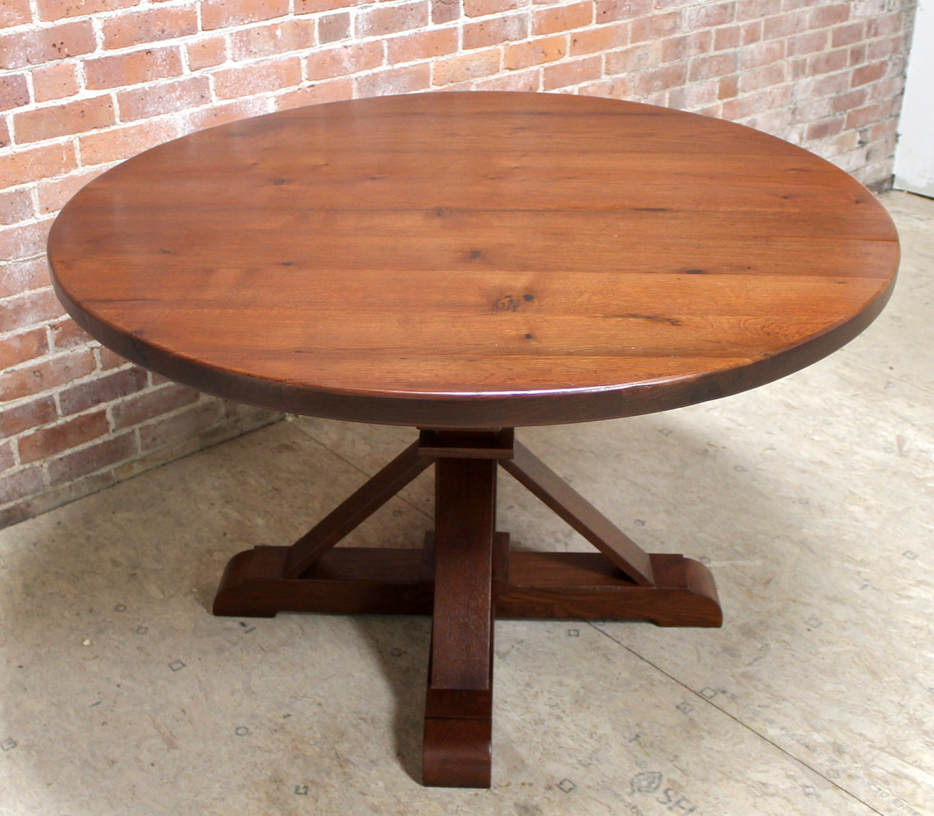 Best ideas about 48 Inch Round Dining Table . Save or Pin 48 inch Round Oak Table with Phoenix Pedestal Now.