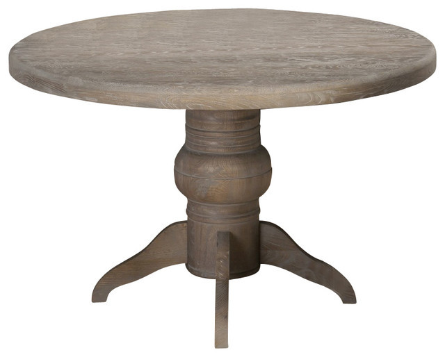 Best ideas about 48 Inch Round Dining Table . Save or Pin Jofran Burnt Grey 48 Inch Round Dining Table w Fixed Top Now.