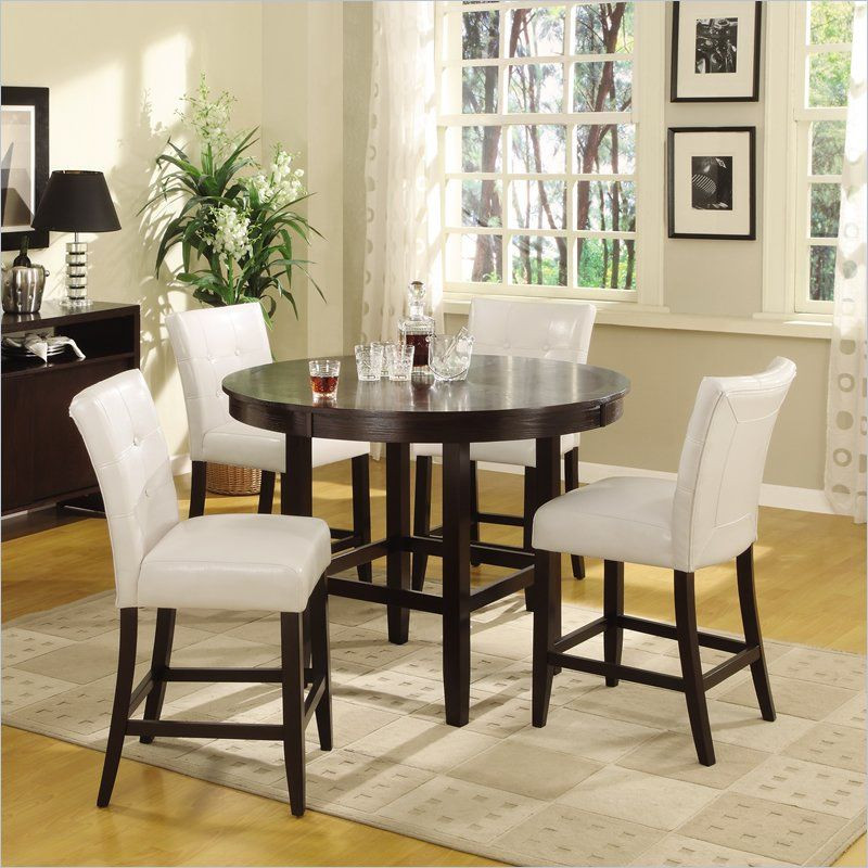 Best ideas about 48 Inch Round Dining Table . Save or Pin Modus Furniture Modus Bossa 5 Piece 48 Inch Round Counter Now.