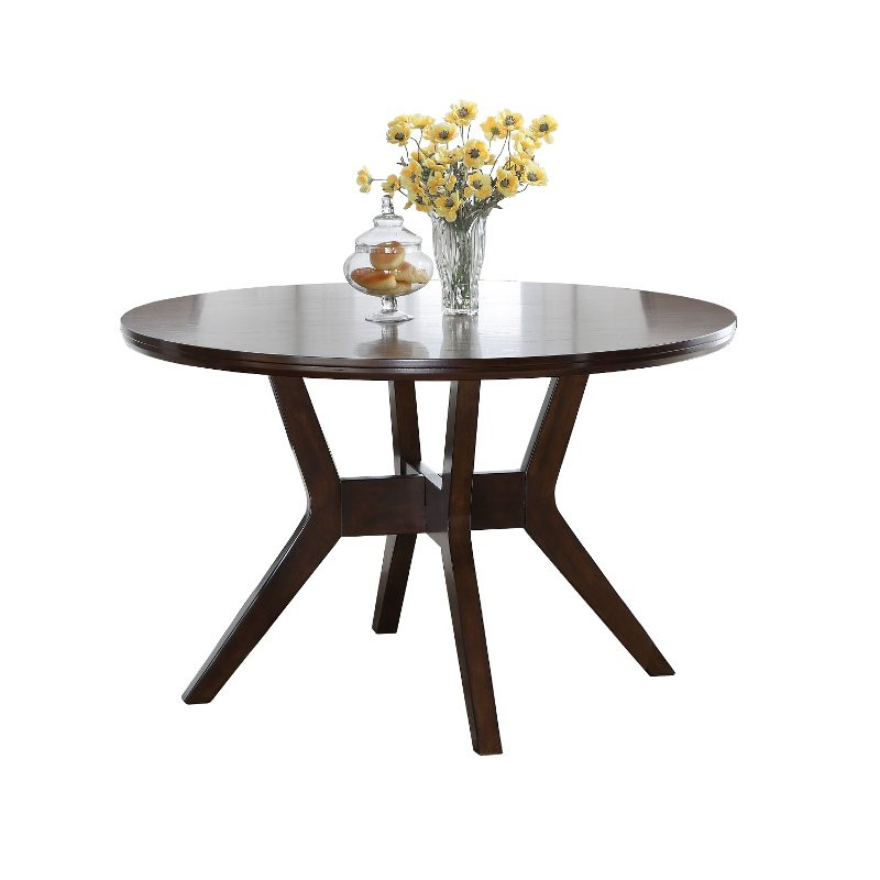 Best ideas about 48 Inch Round Dining Table . Save or Pin Espresso 48 Inch Round Dining Table Barney Now.