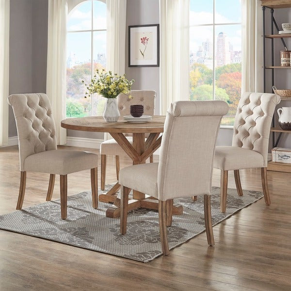 Best ideas about 48 Inch Round Dining Table . Save or Pin Shop Benchwright Rustic X base 48 inch Round Dining Table Now.