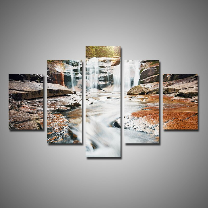 Best ideas about 5 Panel Wall Art . Save or Pin Aliexpress Buy Modern Home Decor 5 Pieces Multi Now.
