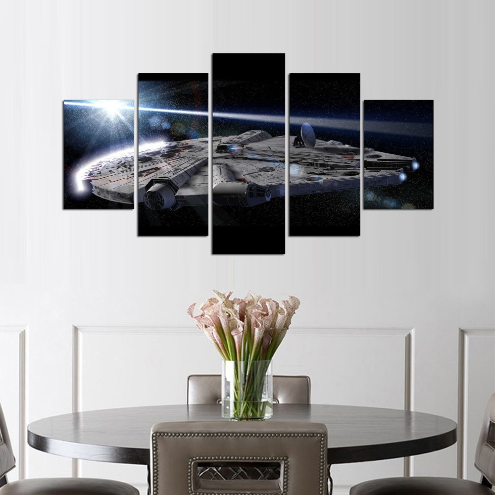 Best ideas about 5 Panel Wall Art . Save or Pin 5 Panel Star War wall art Movie Poster Home Now.