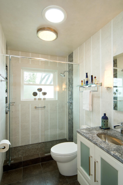 Best ideas about 5X8 Bathroom Layout . Save or Pin Modern 5x8 Bathroom Modern Bathroom milwaukee by Now.