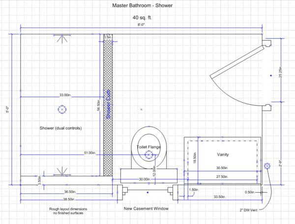 Best ideas about 5X8 Bathroom Layout . Save or Pin 17 Best images about bathroom on Pinterest Now.