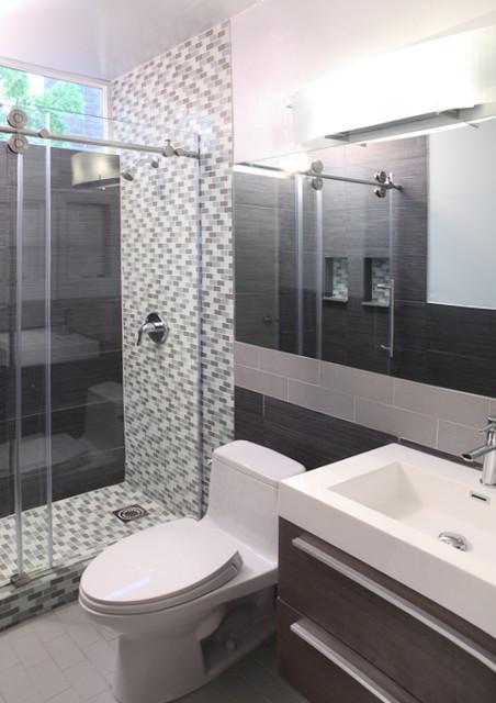 Best ideas about 5X8 Bathroom Layout . Save or Pin Walnut Creek Bathroom Remodel Modern Bathroom San Now.