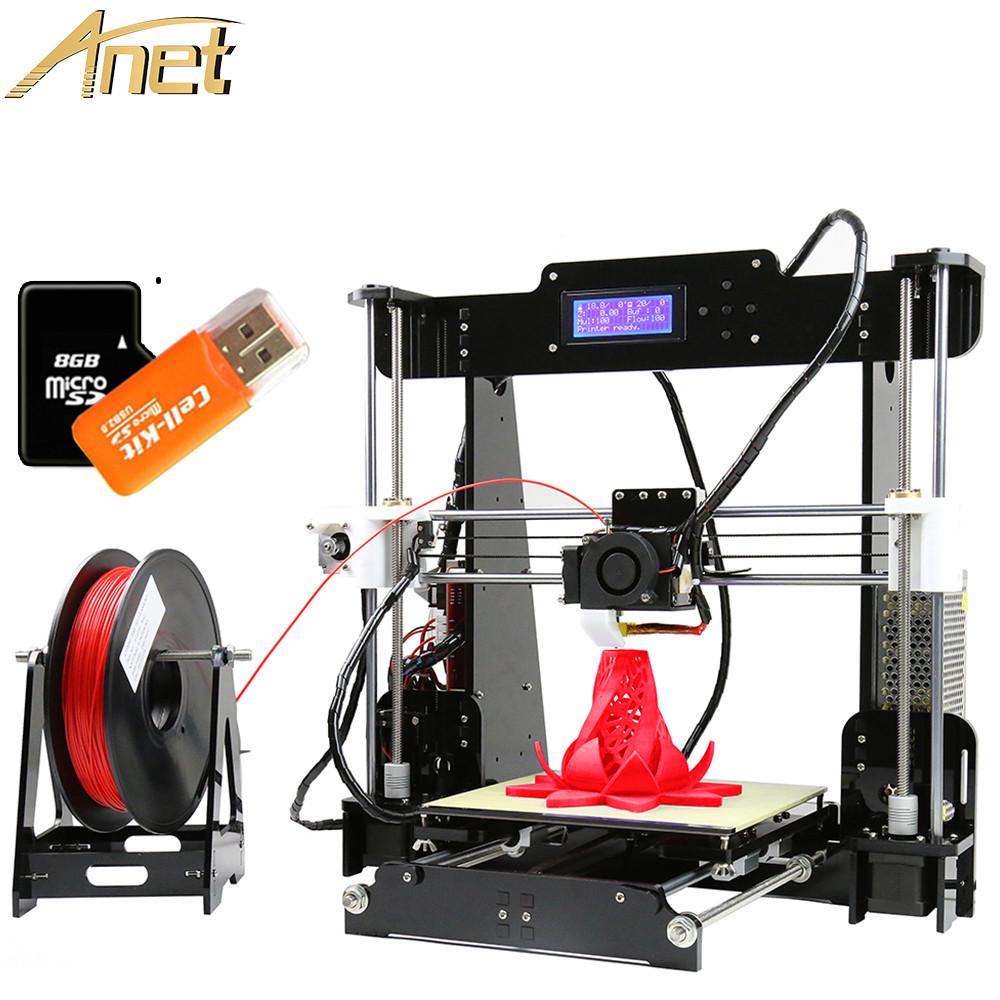 Best ideas about A8 Desktop 3D Printer Prusa I3 DIY Kit . Save or Pin 2018 Cheap Desktop 3D Printers Anet A8 A6 DIY 3D Printer Now.