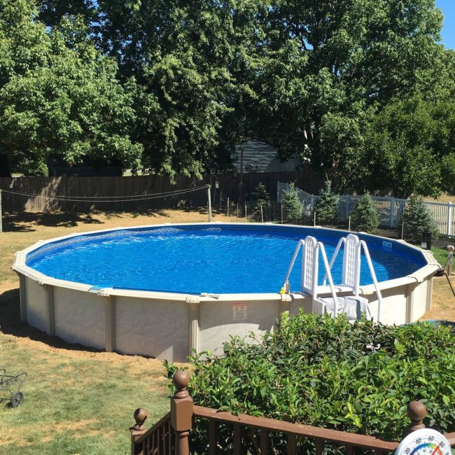 Best ideas about Above Ground Pool Installers . Save or Pin This DIY above ground pool installation looks so easy Now.