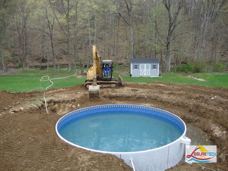 Best ideas about Above Ground Pool Installers . Save or Pin putting aboveground pool in the ground Now.
