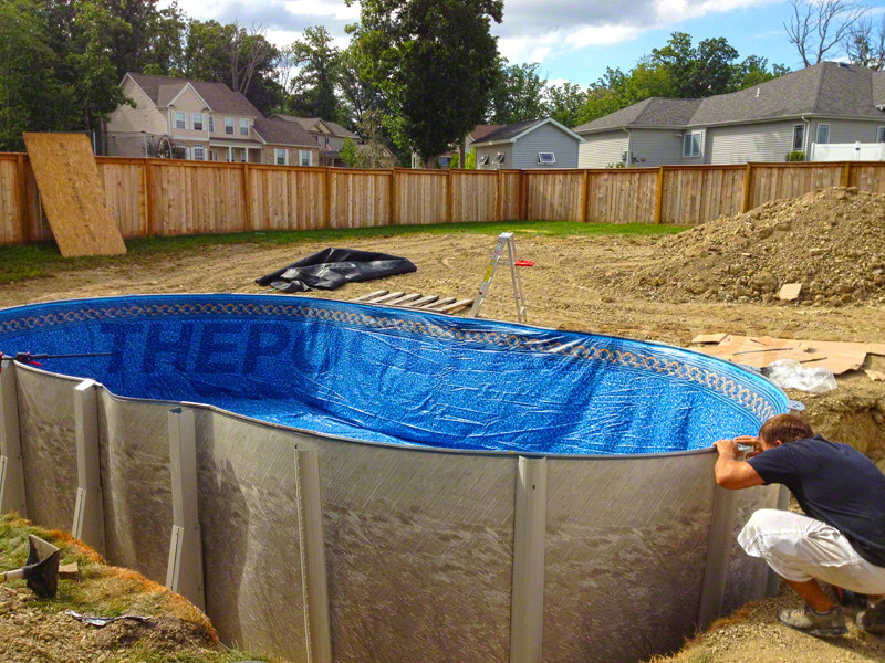 Best ideas about Above Ground Pool Installers . Save or Pin Ground Pool Installation s The Pool Factory Now.