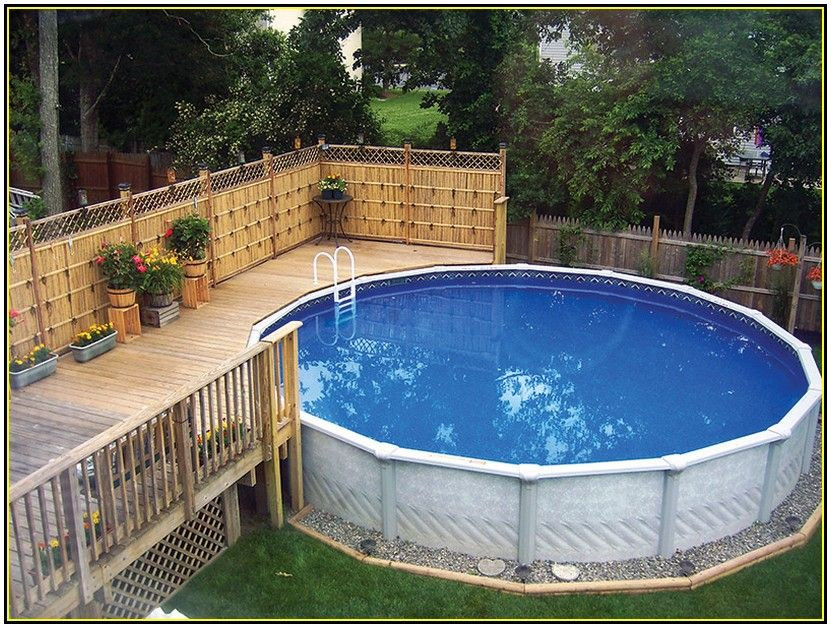 Best ideas about Above Ground Pool Landscaping . Save or Pin Pool Landscaping Ideas For Privacy Now.