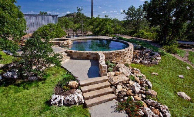 Best ideas about Above Ground Pool Landscaping . Save or Pin 31 Uniquely Decorative Ground Pool Landscaping Ideas Now.