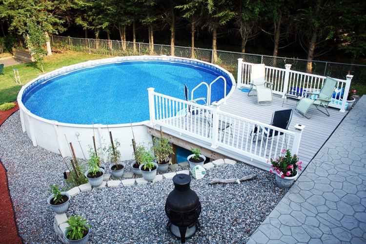 Best ideas about Above Ground Pool Landscaping . Save or Pin 16 Spectacular Ground Pool Ideas You Should Steal Now.