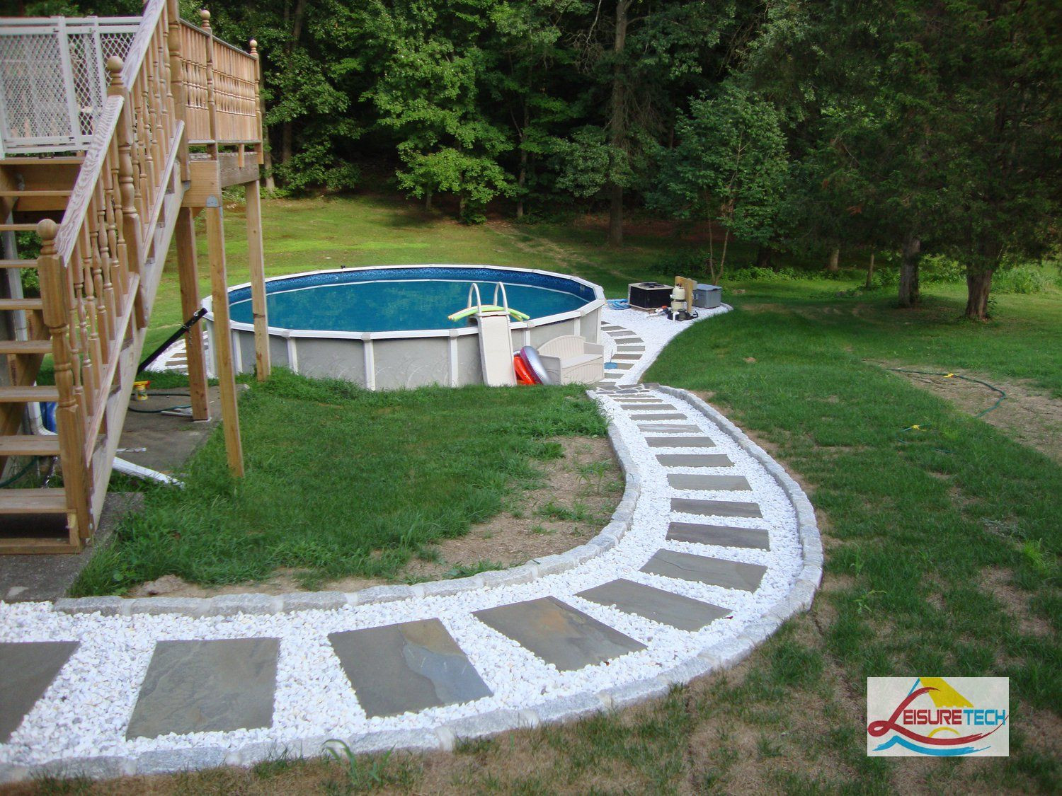 Best ideas about Above Ground Pool Landscaping . Save or Pin ground pool landscaping DIY Now.