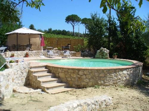 Best ideas about Above Ground Pool Landscaping . Save or Pin Ground Pool Landscaping Now.