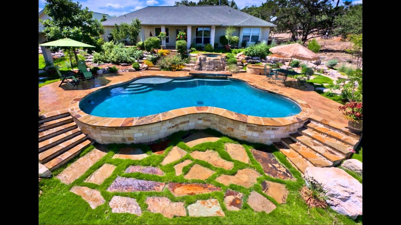 Best ideas about Above Ground Pool Landscaping . Save or Pin above ground pool landscaping ideas free Now.