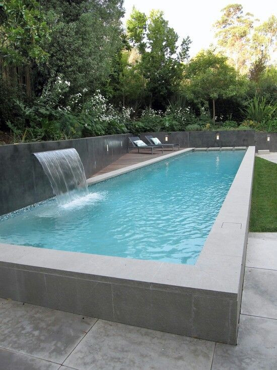 Best ideas about Above Ground Pool Rectangular . Save or Pin 1000 ideas about Rectangle Ground Pool on Pinterest Now.