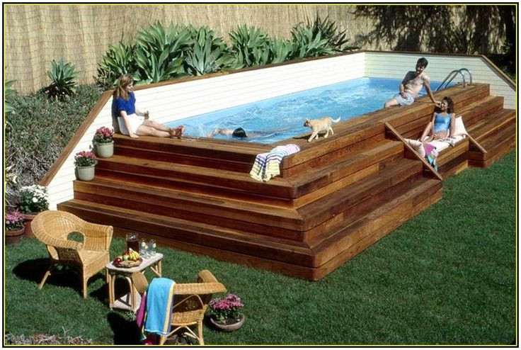 Best ideas about Above Ground Pool Rectangular . Save or Pin Best 25 Rectangle above ground pool ideas on Pinterest Now.