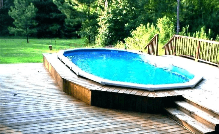 Best ideas about Above Ground Pool Rectangular . Save or Pin Best Outdoor Pools Rectangular Ground Pools Intex Now.