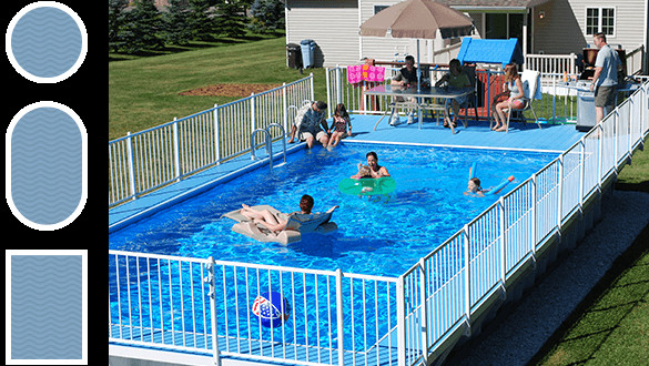 Best ideas about Above Ground Pool Rectangular . Save or Pin Ground Pools Kayak Pools Midwest Now.