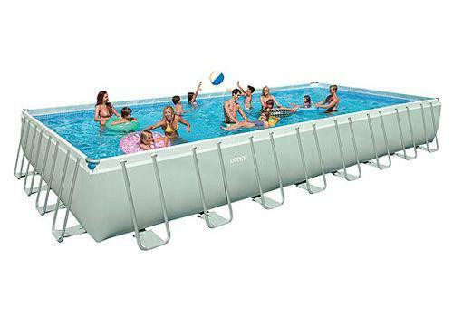 Best ideas about Above Ground Pool Rectangular . Save or Pin Rectangular Ground Swimming Pool Now.