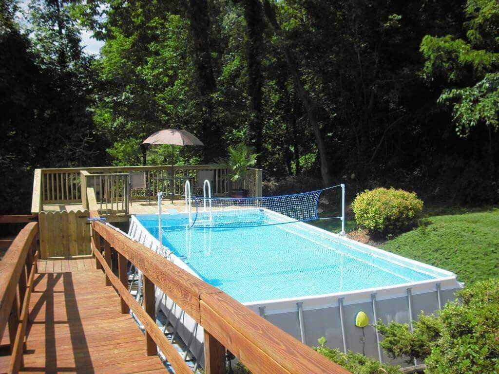 Best ideas about Above Ground Pool Rectangular . Save or Pin Rectangular Ground Pools Now.
