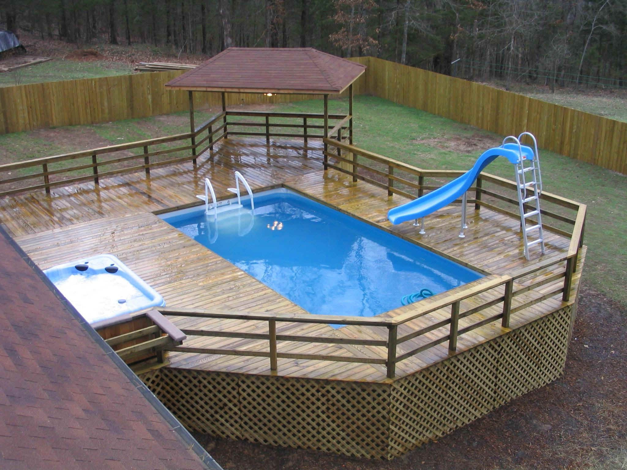 Best ideas about Above Ground Pool Rectangular . Save or Pin narrowest rectangular above ground pool Now.