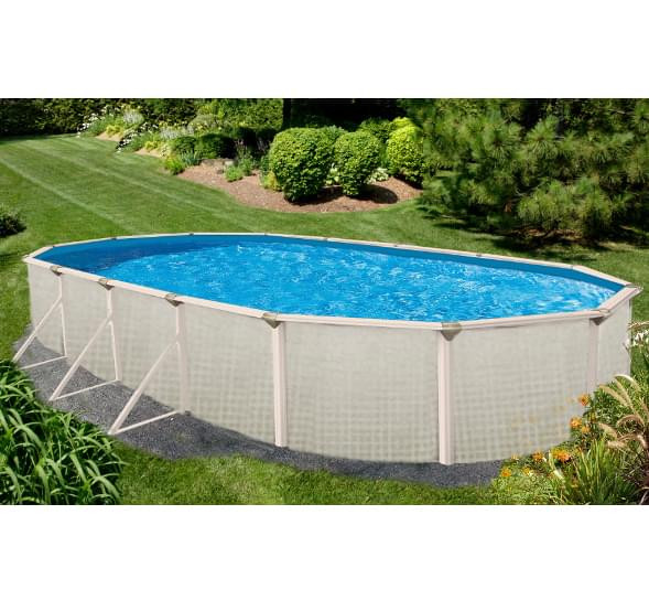 Best ideas about Above Ground Pool Supplies . Save or Pin Evolution 12 x 24 ft Oval Ground Pool Pool Now.