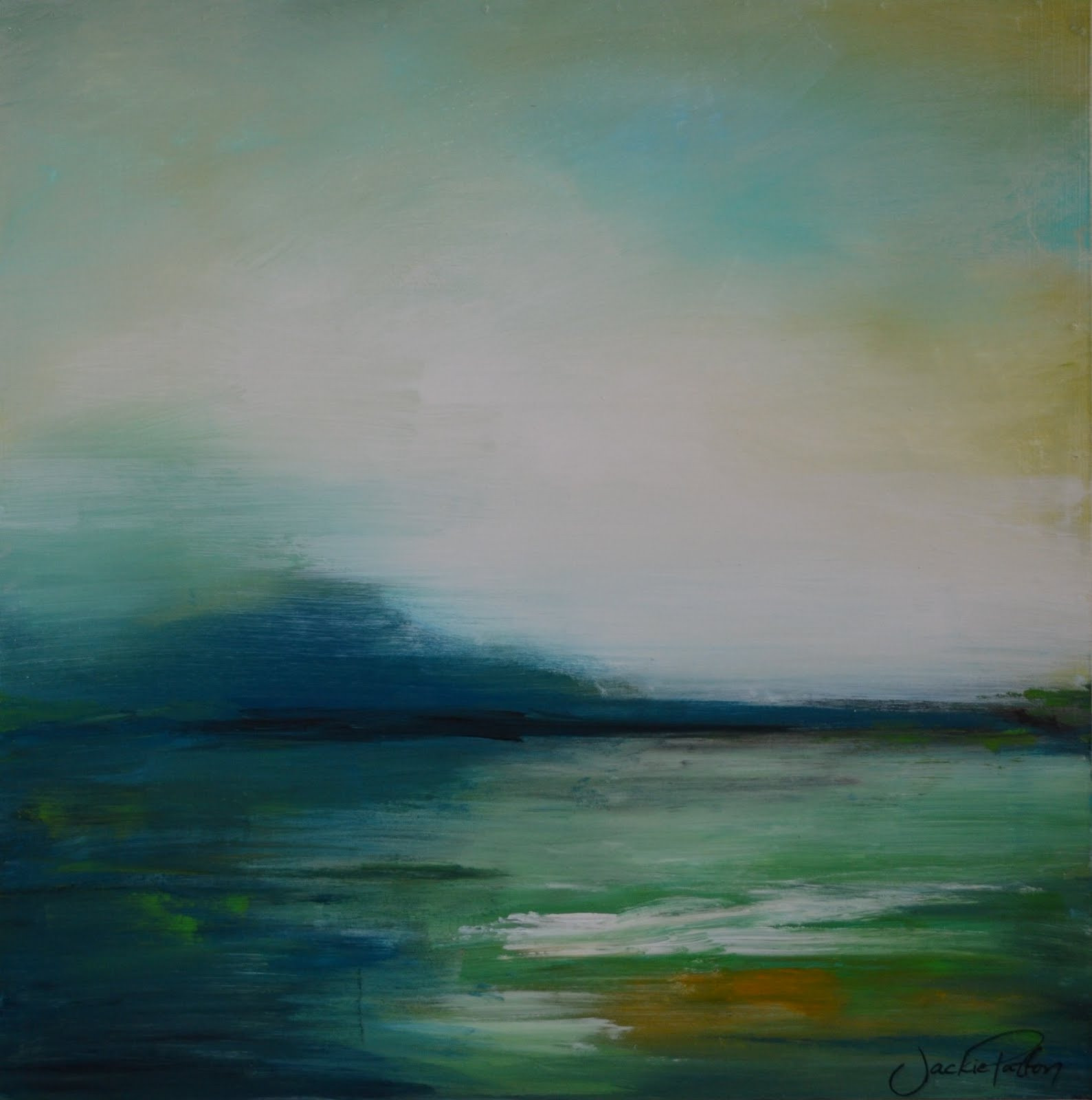 Best ideas about Abstract Landscape Paintings . Save or Pin The Art Girl Jackie 5 Days of Art Part 3 4 & 5 Now.