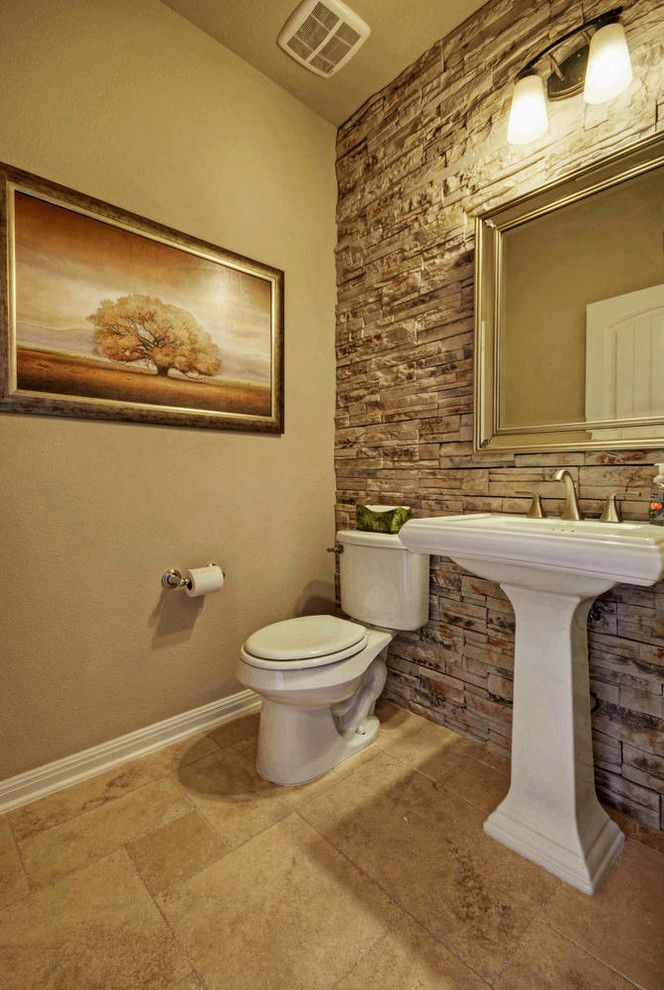 Best ideas about Accent Wall Bathroom . Save or Pin Best 25 Stone accent walls ideas on Pinterest Now.
