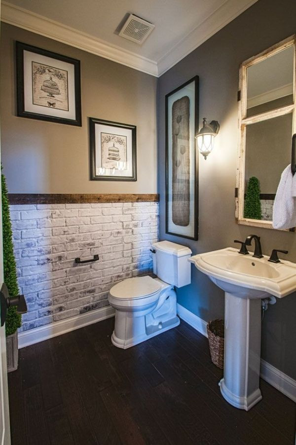 Best ideas about Accent Wall Bathroom . Save or Pin Best 20 Bathroom accent wall ideas on Pinterest Now.