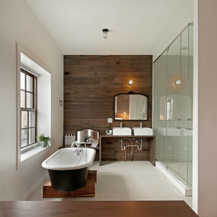 Best ideas about Accent Wall Bathroom . Save or Pin 40 Creative Ideas for Bathroom Accent Walls Designer Mag Now.