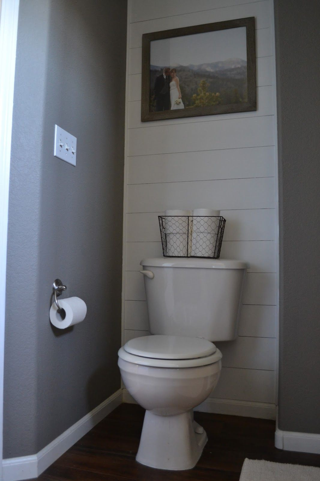 Best ideas about Accent Wall Bathroom . Save or Pin DIY Plank Accent Wall Harvey Hideaway Now.