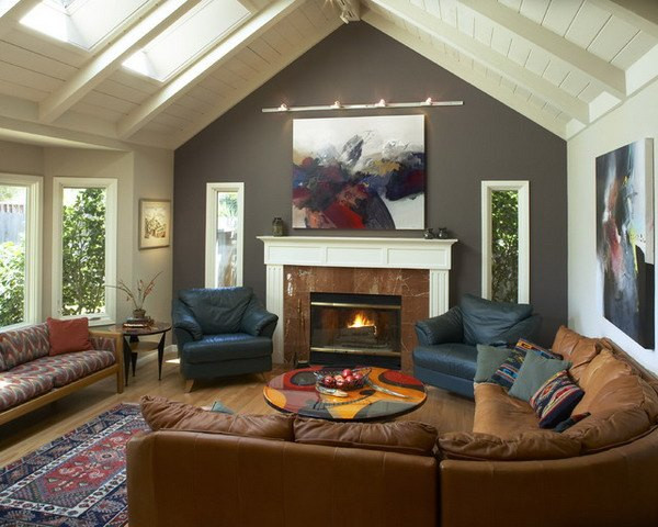 Best ideas about Accent Wall Colors Living Room . Save or Pin 20 Beautiful Living Room Accent Wall Ideas Now.