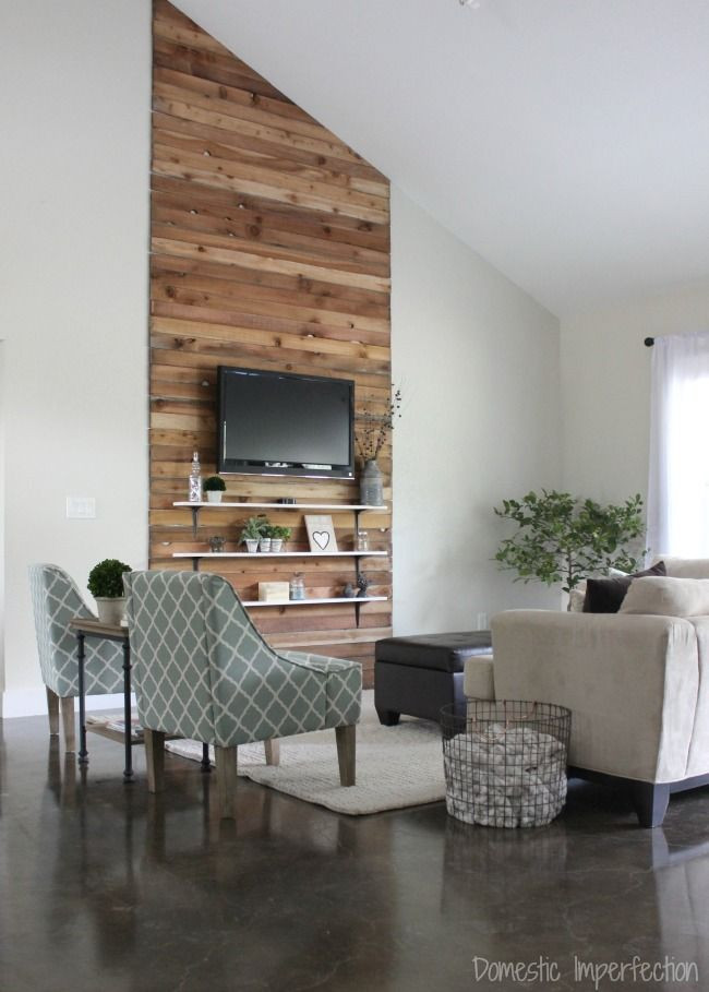 Best ideas about Accent Wall Ideas For Living Room . Save or Pin Eric and Kelsey's Bud Living Room Makeover Now.