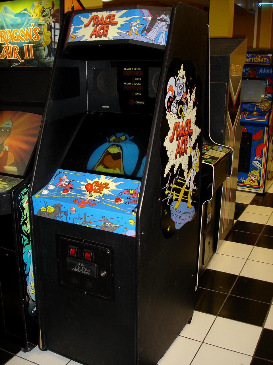 Best ideas about Ace Game Room . Save or Pin Space Ace 1 How Does it pare to the 1984 Game and Now.