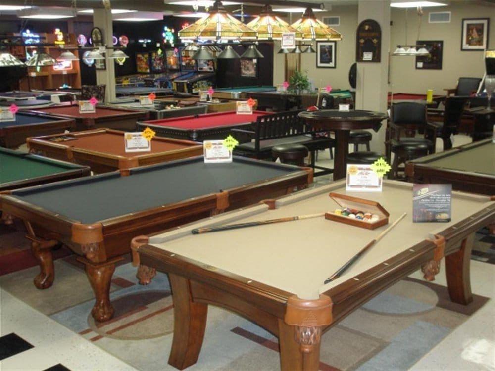 Best ideas about Ace Game Room . Save or Pin Ace Game Room Gallery Sporting Goods 2525 W Jefferson Now.