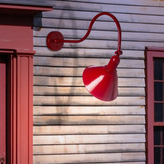 Best ideas about Affordable Quality Lighting . Save or Pin Gooseneck Barn Light Traditional Outdoor Wall Lights Now.
