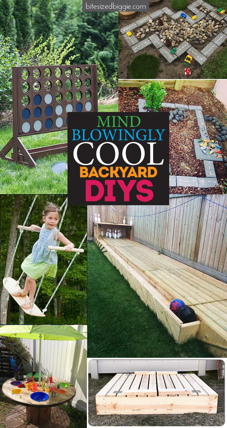 Best ideas about All Backyard Fun . Save or Pin Mindblowingly Awesome Backyard DIYs Bite Sized Biggie Now.