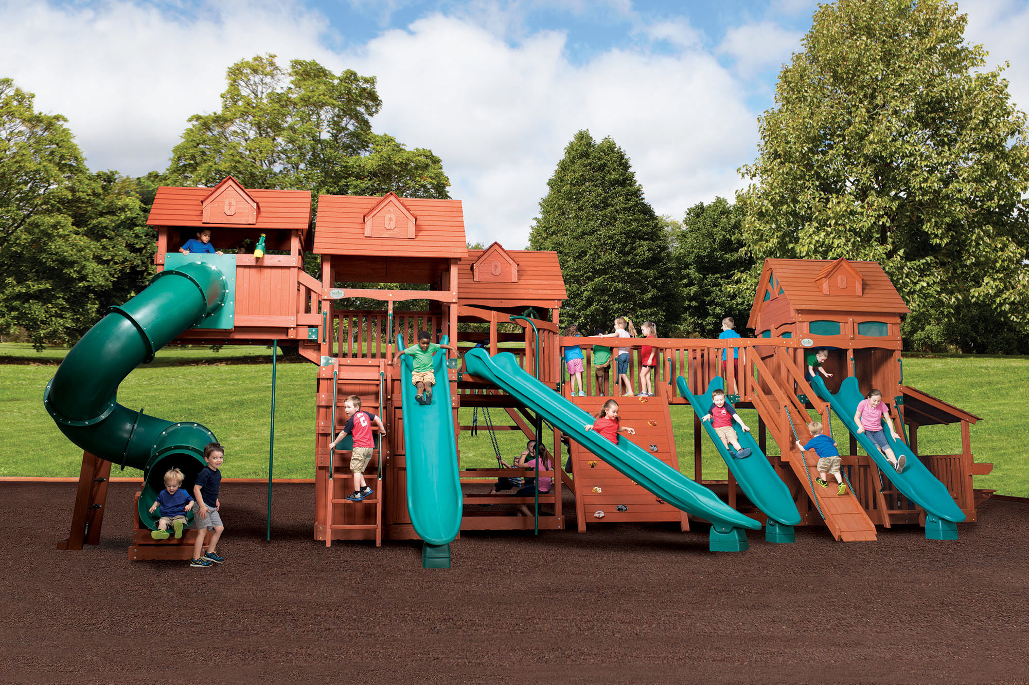 Best ideas about All Backyard Fun . Save or Pin Swingsets & Playsets by Backyard Adventures of Middle Now.
