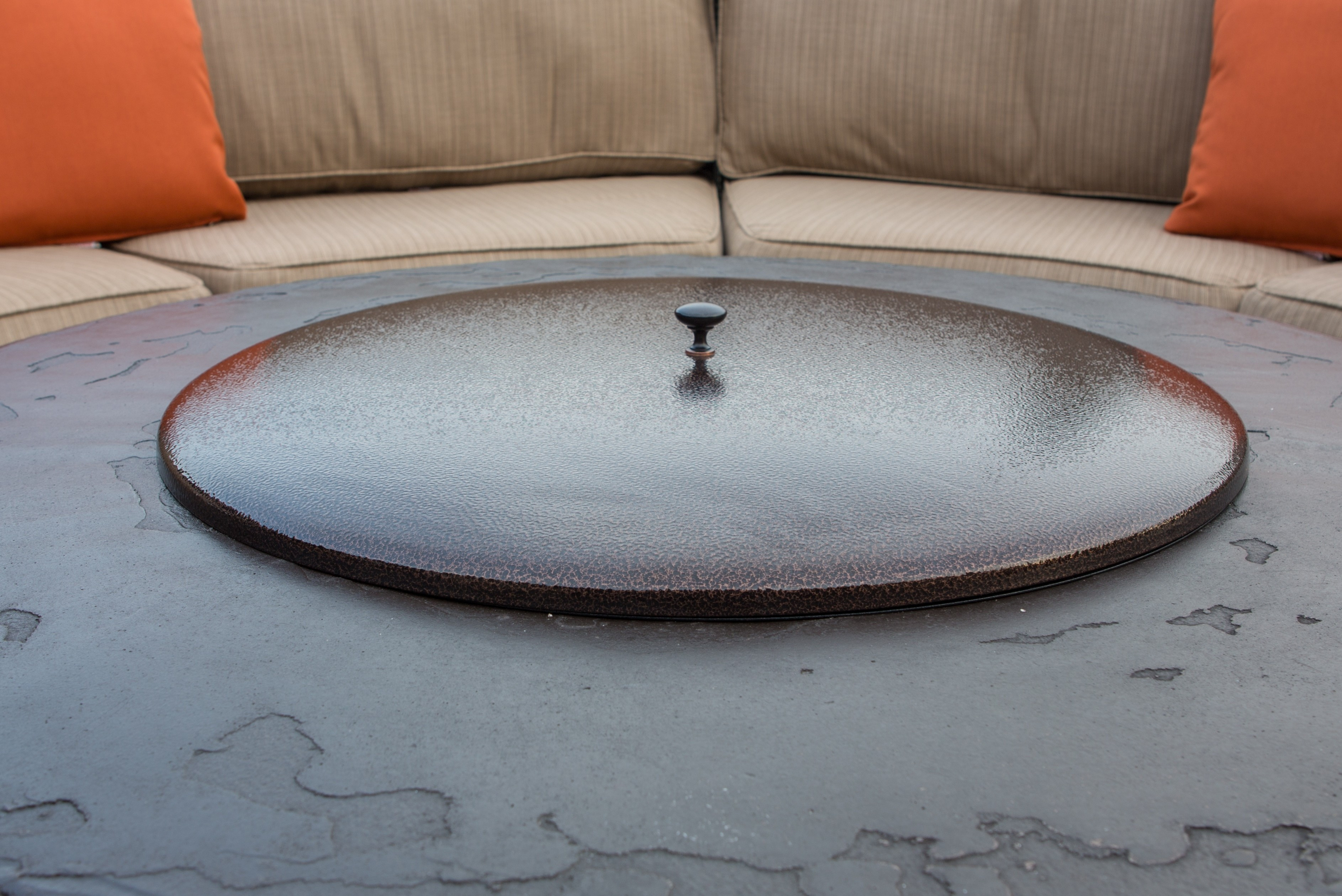 Best ideas about All Backyard Fun . Save or Pin Fire Pit With Lid Now.
