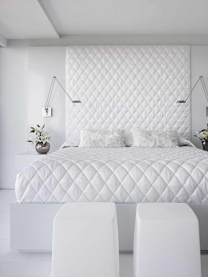 Best ideas about All White Bedroom . Save or Pin 41 White Bedroom Interior Design Ideas & Now.