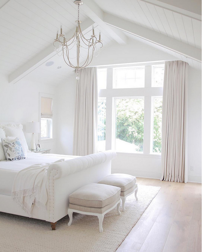 Best ideas about All White Bedroom . Save or Pin New 2017 Interior Design Tips & Ideas Home Bunch Now.